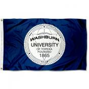 Washburn University Seal Flag