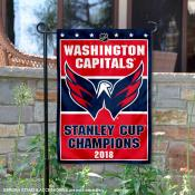 Washington Capitals 2018 Stanley Cup Champions Garden Flag