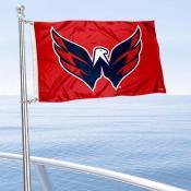 Washington Capitals Boat and Nautical Flag