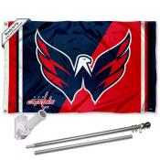 Washington Capitals Eagle Flag Pole and Bracket Kit