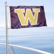 Washington Huskies Golf Cart Flag