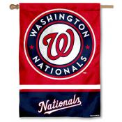 Washington Nationals Double Sided House Flag