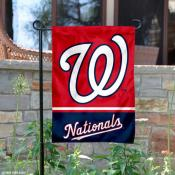 Washington Nationals Garden Flag