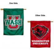 Washington St. Louis Bears Double Sided House Flag