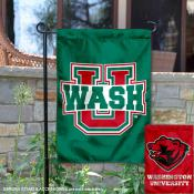 Washington St. Louis Bears Dual Logo Garden Flag