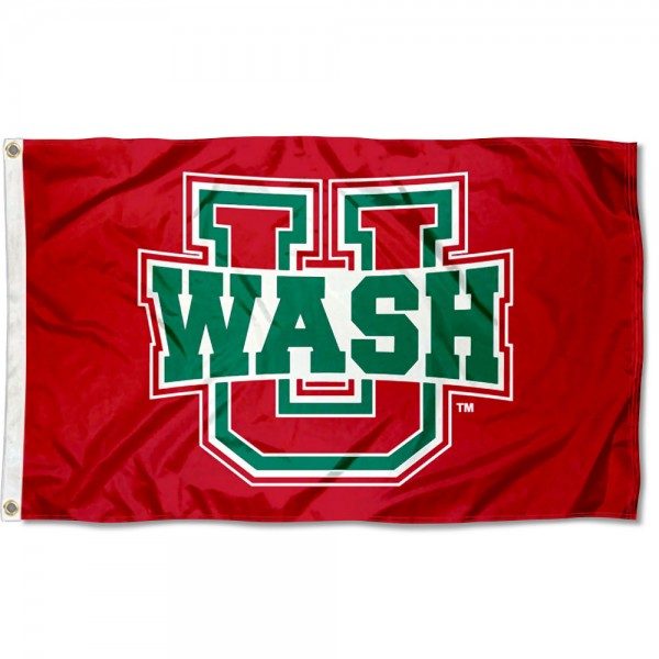 Washington St. Louis Bears Flag measures 3x5 feet, is made of 100% polyester, offers quadruple stitched flyends, has two metal grommets, and offers screen printed NCAA team logos and insignias. Our Washington St. Louis Bears Flag is officially licensed by the selected university and NCAA.
