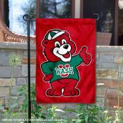 Washington St. Louis Bears Friendly Bear Garden Flag