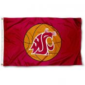 Washington State Basketball Flag