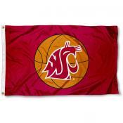 Washington State Basketball Flag