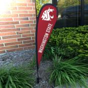 Washington State Cougars Small Feather Flag