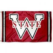 Washington State Cougars Throwback Vault Logo Flag