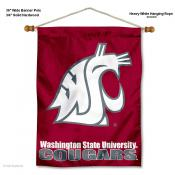 Washington State Cougars Wall Banner