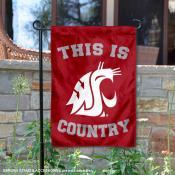 Washington State University Country Garden Flag