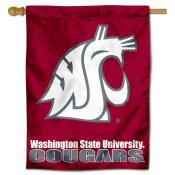 Washington State University Decorative Flag