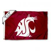 Washington State University Mini Flag