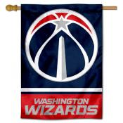 Washington Wizards Logo Double Sided House Flag