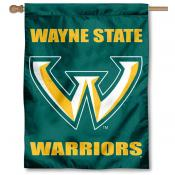 Wayne State University Banner Flag