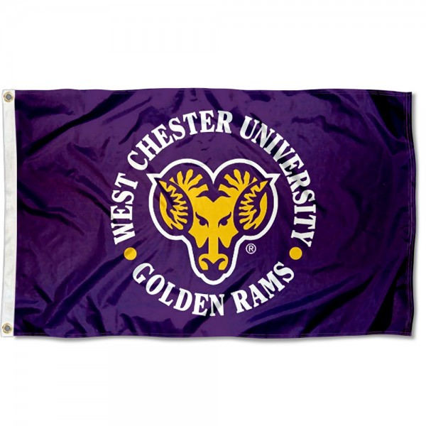 WCU Golden Rams Flag measures 3x5 feet, is made of 100% polyester, offers quadruple stitched flyends, has two metal grommets, and offers screen printed NCAA team logos and insignias. Our WCU Golden Rams Flag is officially licensed by the selected university and NCAA.