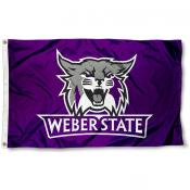 Weber State Wildcats Flag