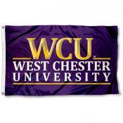 West Chester Golden Rams Logo Flag