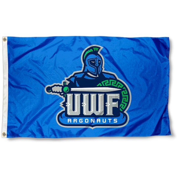 West Florida Argonauts Flag measures 3x5 feet, is made of 100% polyester, offers quadruple stitched flyends, has two metal grommets, and offers screen printed NCAA team logos and insignias. Our West Florida Argonauts Flag is officially licensed by the selected university and NCAA.