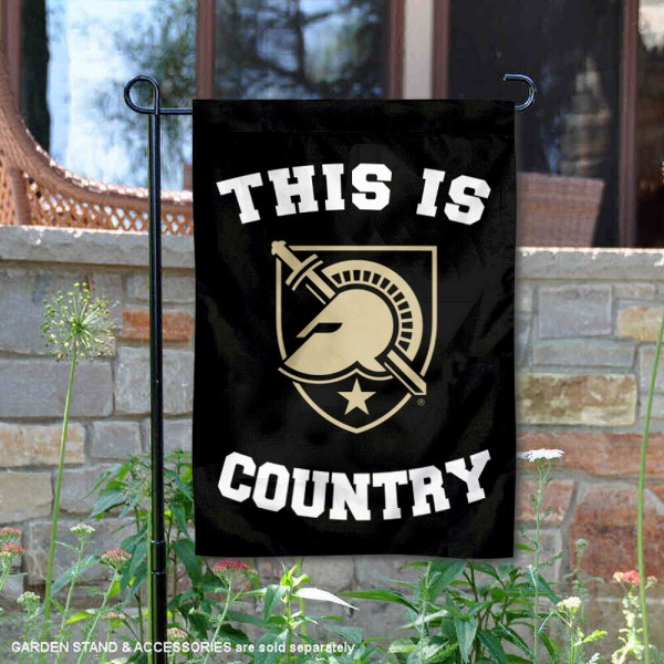 West Point Country Garden Flag is 13x18 inches in size, is made of 2-layer polyester, screen printed university athletic logos and lettering, and is readable and viewable correctly on both sides. Available same day shipping, our West Point Country Garden Flag is officially licensed and approved by the university and the NCAA.