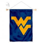 West Virginia Mountaineers Banner with Suction Cup