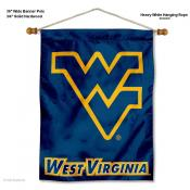 West Virginia Mountaineers Wall Banner