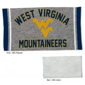 West Virginia Mountaineers Workout Exercise Towel