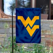 West Virginia University Blue Garden Flag