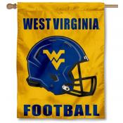 West Virginia University Helmet House Flag