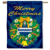 West Virginia University Holiday Flag