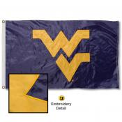 West Virginia University Nylon Embroidered Flag