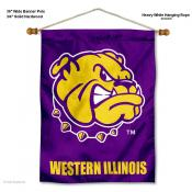 Western Illinois Leathernecks Wall Banner