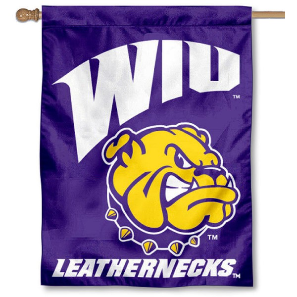 Western Illinois U House Flag is a vertical house flag which measures 30x40 inches, is made of 2 ply 100% polyester, offers dye sublimated NCAA team insignias, and has a top pole sleeve to hang vertically. Our Western Illinois U House Flag is officially licensed by the selected university and the NCAA.