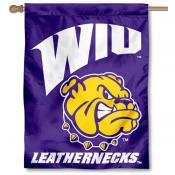 Western Illinois U House Flag