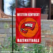 Western Kentucky Hilltoppers Basketball Garden Banner