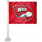 Western Kentucky Hilltoppers Car Flag