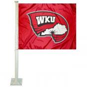 Western Kentucky Hilltoppers Car Flag