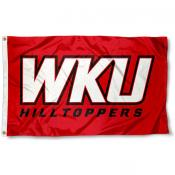 Western Kentucky Hilltoppers WKU Logo Flag