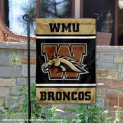 Western Michigan Broncos Garden Flag