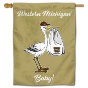Western Michigan Broncos New Baby Flag