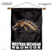 Western Michigan Broncos Wall Banner
