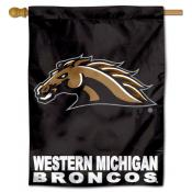 Western Michigan University Broncos House Flag