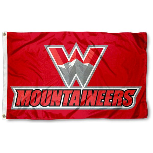 Western State Colorado Mountaineers Flag is made of 100% nylon, offers quad stitched flyends, measures 3x5 feet, has two metal grommets, and is viewable from both side with the opposite side being a reverse image. Our Western State Colorado Mountaineers Flag is officially licensed by the selected college and NCAA