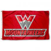 Western State Colorado Mountaineers Flag