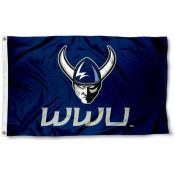 Western Washington University Logo Outdoor Flag