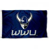 Western Washington University Logo Outdoor Flag