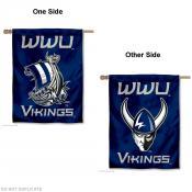 Western Washington Vikings Double Sided House Flag