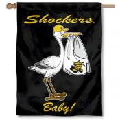 Wichita State Shockers New Baby Flag